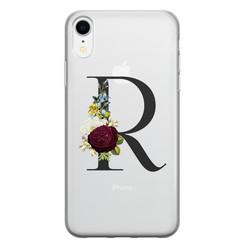 Leuke Telefoonhoesjes iPhone XR siliconen hoesje ontwerpen - Monogram