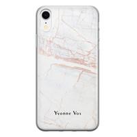 iPhone XR siliconen hoesje ontwerpen - Stone
