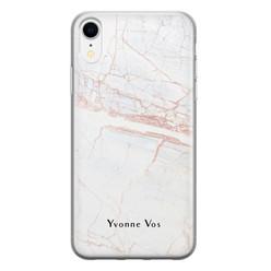 Leuke Telefoonhoesjes iPhone XR siliconen hoesje ontwerpen - Stone