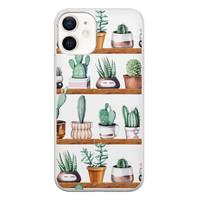 iPhone 12 siliconen hoesje - Cactus