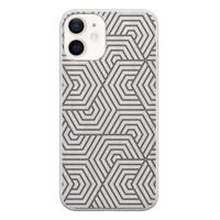 iPhone 12 siliconen hoesje - Geometrisch