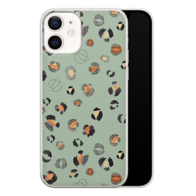 iPhone 12 siliconen hoesje - Baby leo