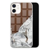 iPhone 12 siliconen hoesje - Chocoladereep