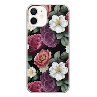 iPhone 12 siliconen hoesje - Bloemenliefde