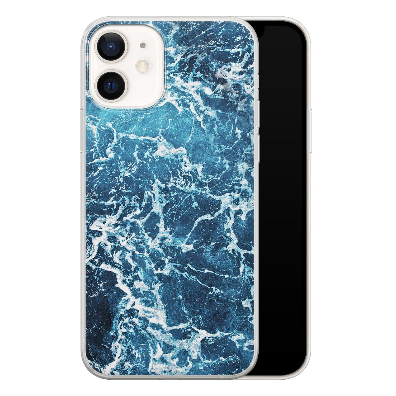 iPhone 12 siliconen hoesje - Ocean blue