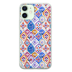 iPhone 12 mini siliconen hoesje - Boho vibe
