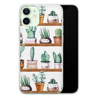 iPhone 12 mini siliconen hoesje - Cactus