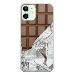 iPhone 12 mini siliconen hoesje - Chocoladereep