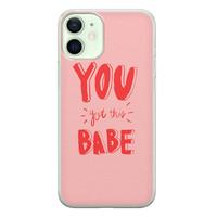 Leuke Telefoonhoesjes iPhone 12 mini siliconen hoesje - Where to go next
