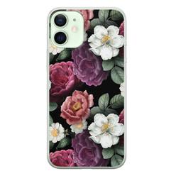 iPhone 12 mini siliconen hoesje - Bloemenliefde