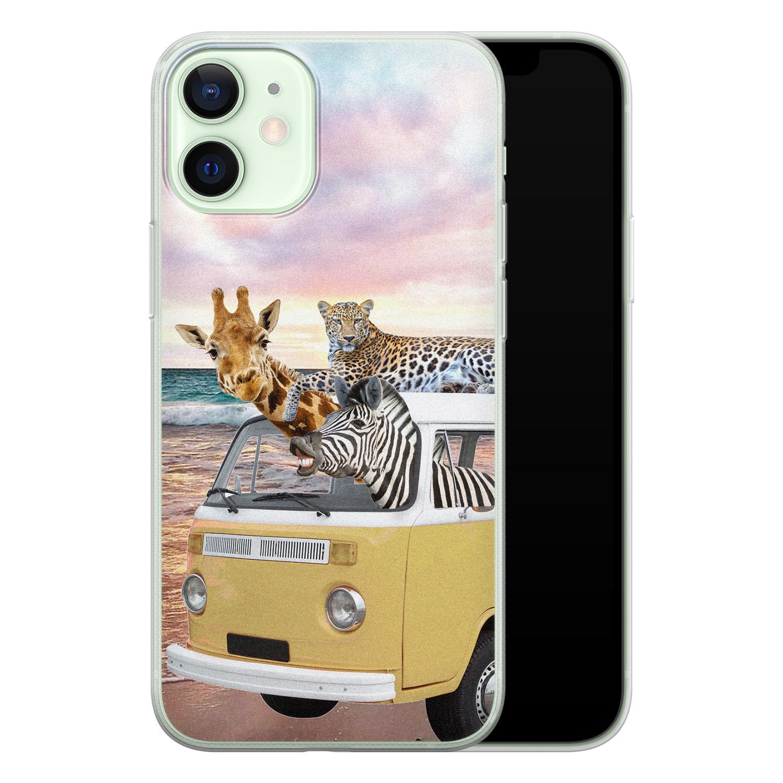 Leuke Telefoonhoesjes iPhone 12 mini siliconen hoesje - Wanderlust
