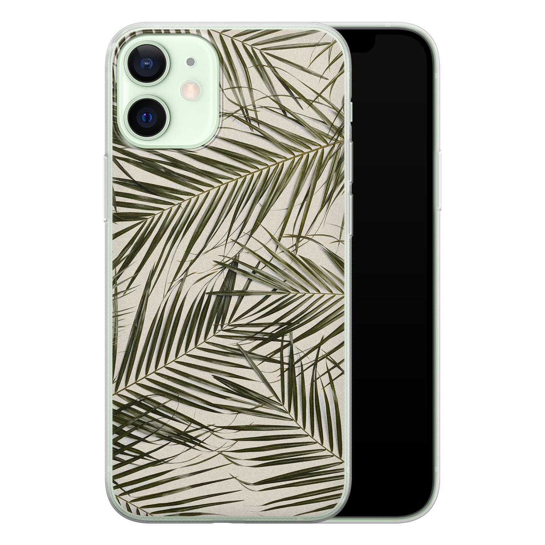 iPhone 12 mini siliconen hoesje - Leave me alone