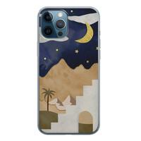 iPhone 12 Pro siliconen hoesje - Desert night