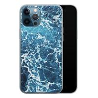 iPhone 12 Pro siliconen hoesje - Ocean blue