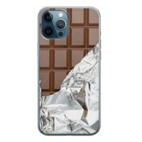 iPhone 12 Pro siliconen hoesje - Chocoladereep