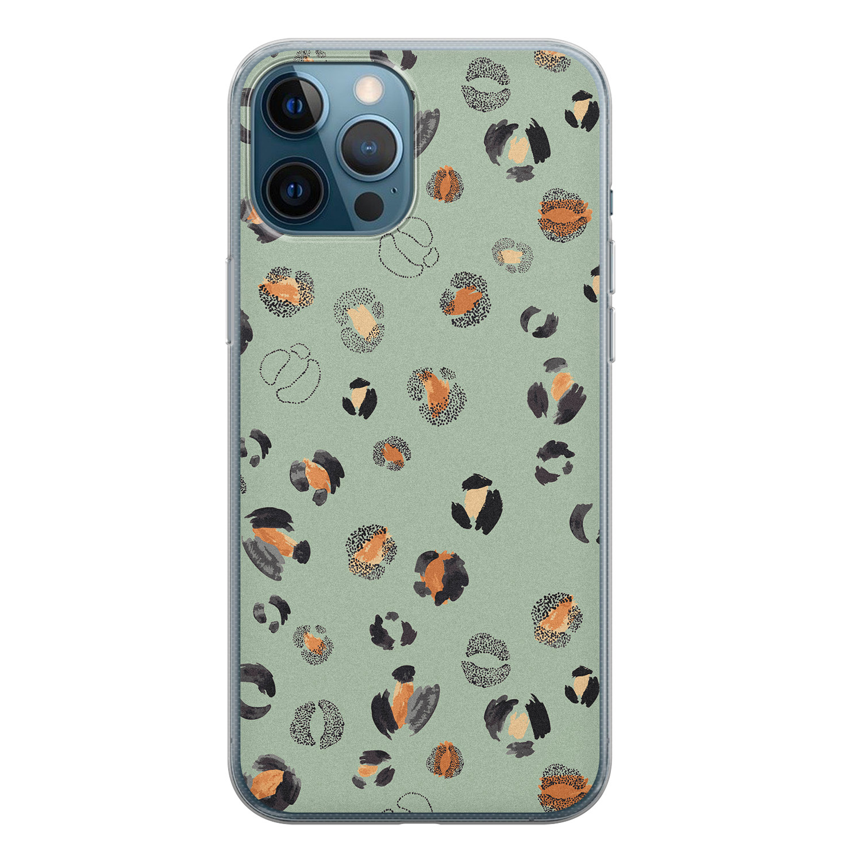 iPhone 12 Pro siliconen hoesje - Baby leo