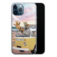 iPhone 12 Pro siliconen hoesje - Wanderlust