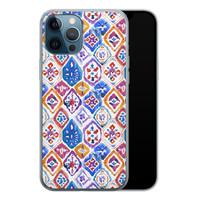 iPhone 12 Pro siliconen hoesje - Boho vibe