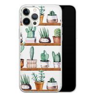 iPhone 12 Pro Max siliconen hoesje - Cactus