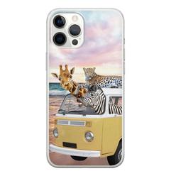 Leuke Telefoonhoesjes iPhone 12 Pro Max siliconen hoesje - Wanderlust