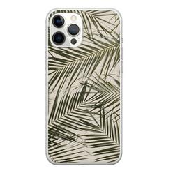 Leuke Telefoonhoesjes iPhone 12 Pro Max siliconen hoesje - Leave me alone