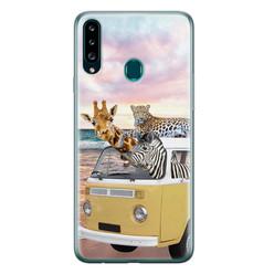 Leuke Telefoonhoesjes Samsung Galaxy A20s siliconen hoesje - Wanderlust