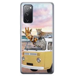Leuke Telefoonhoesjes Samsung Galaxy S20 FE siliconen hoesje - Wanderlust