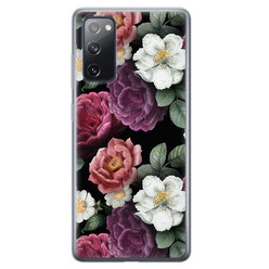 Leuke Telefoonhoesjes Samsung Galaxy S20 FE siliconen hoesje - Bloemenliefde