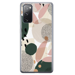 Leuke Telefoonhoesjes Samsung Galaxy S20 FE siliconen hoesje - Abstract print