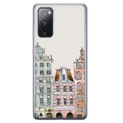 Leuke Telefoonhoesjes Samsung Galaxy S20 FE siliconen hoesje - Grachtenpandjes