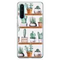 OnePlus Nord siliconen hoesje - Cactus