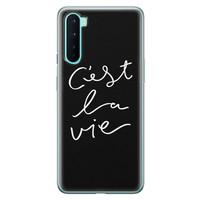 OnePlus Nord siliconen hoesje - C'est la vie