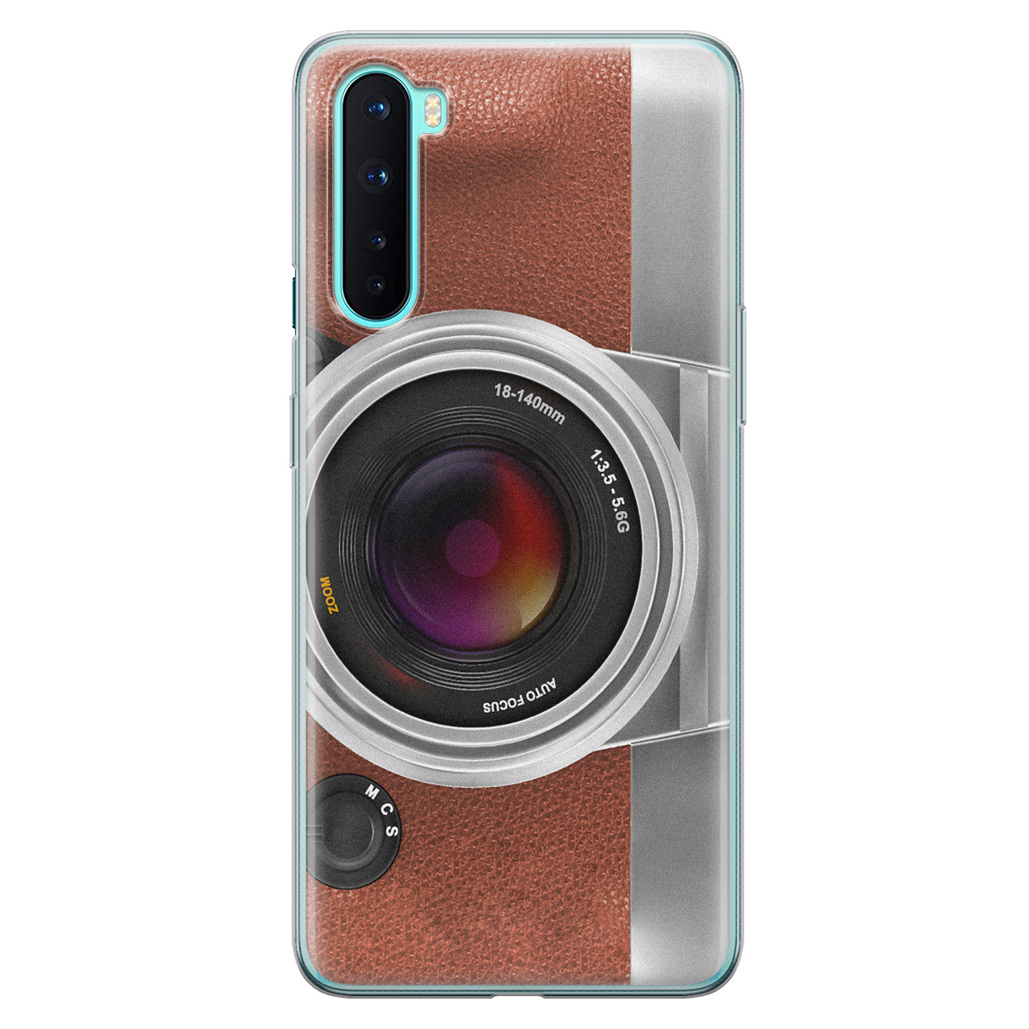 OnePlus Nord siliconen hoesje - Vintage camera