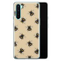OnePlus Nord siliconen hoesje - Bee happy