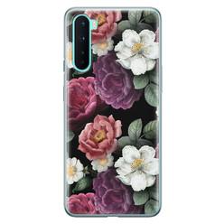 Leuke Telefoonhoesjes OnePlus Nord siliconen hoesje - Bloemenliefde
