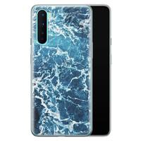 OnePlus Nord siliconen hoesje - Ocean blue