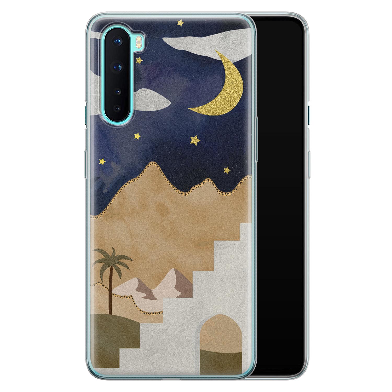 OnePlus Nord siliconen hoesje - Desert night
