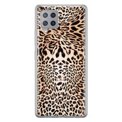 Samsung Galaxy A42 siliconen hoesje - Wild animal