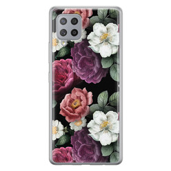 Samsung Galaxy A42 siliconen hoesje - Bloemenliefde
