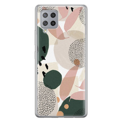Samsung Galaxy A42 siliconen hoesje - Abstract print