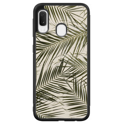 Samsung Galaxy A20e hoesje - Palm leaves