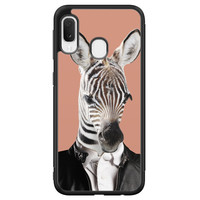 Samsung Galaxy A20e hoesje - Baby zebra