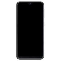 Samsung Galaxy A20e hoesje - Marmer navy blauw