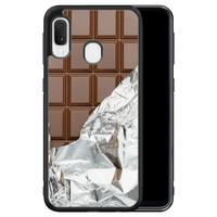 Samsung Galaxy A20e hoesje - Chocoladereep