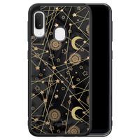 Samsung Galaxy A20e hoesje - Sun, moon, stars