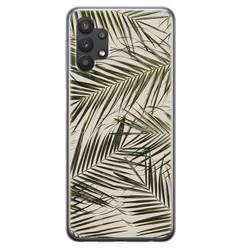Leuke Telefoonhoesjes Samsung Galaxy A32 5G siliconen hoesje - Leave me alone