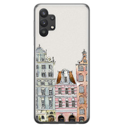 Leuke Telefoonhoesjes Samsung Galaxy A32 5G siliconen hoesje - Grachtenpandjes