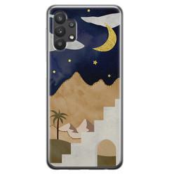 Samsung Galaxy A32 siliconen hoesje - Desert night
