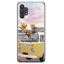 Leuke Telefoonhoesjes Samsung Galaxy A32 5G siliconen hoesje - Wanderlust