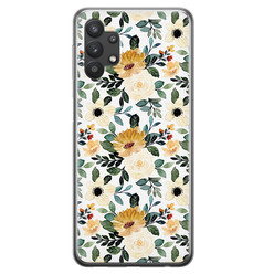 Samsung Galaxy A32 5G siliconen hoesje - Lovely flower